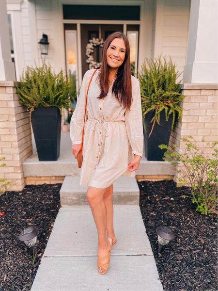 Linen dress   http://liketk.it/3hEmC @liketoknow.it #liketkit #LTKunder50 #LTKsalealert #LTKstyletip