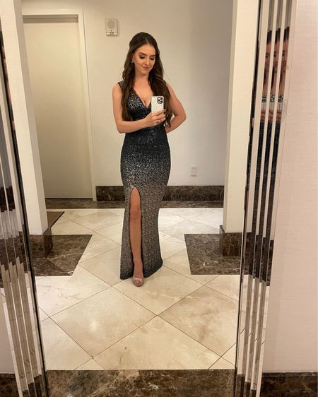 Loved this dress I wore for my sister's wedding! It's on mega sale. I wore a size 2 💙 http://liketk.it/35yP8 #liketkit @liketoknow.it #LTKNewYear #LTKsalealert #LTKunder50