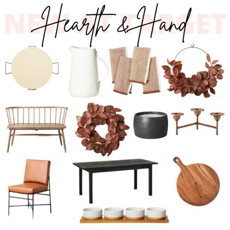 Hearth & Hand, Home Decor, Target Decor, Target Finds, Fall Decor, Kitchen Decor, Living Room Decor, Dining Table, Decor  #LTKhome #LTKSeasonal