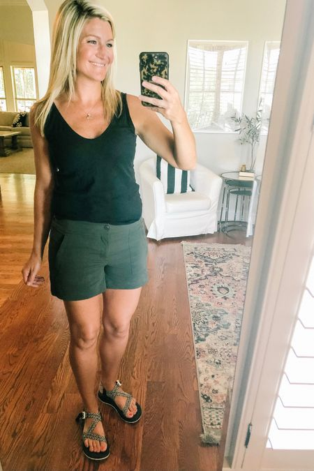 Tried talking in stories about these shorts, but it might have been difficult to hear anything I was saying between my kids yelling and my dog barking #hellosummer But if you're going to the parks (or anywhere really hot!) this summer you are going to want these shorts! They are stretchy, light weight, have pockets and are cute! They also come in black, but I'm really trying to buy something other than black 😂     http://liketk.it/2Ccif #liketkit @liketoknow.it #LTKtravel #LTKfit  #disney #disneyworld #disneystyle    Shop your screenshot of this pic with the LIKEtoKNOW.it app