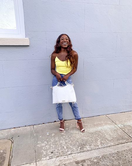 Summer style in Charleston featuring yellow corset top and pastel fashion finds under $100! http://liketk.it/3hkDW #liketkit @liketoknow.it #LTKunder100 #LTKunder50