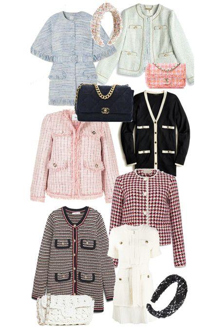 Chic tweed finds for fall.   #LTKworkwear #LTKstyletip #LTKSeasonal