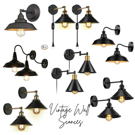 Vintage Oil rubbed bronze wall sconces  Screenshot or 'like' this pic to shop the product details from the LIKEtoKNOW.it app, available now from the App Store!    http://liketk.it/33QEo @liketoknow.it #liketkit #LTKsalealert #LTKunder50 #LTKhome @liketoknow.it.home