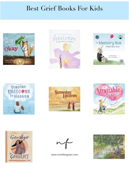 """Sharing my kid's favorite books for grief. Books are such a great resource for younger kids who can't quite articulate how they're feeling, but have so many questions. Full post on the blog, search """"child grief.""""  http://liketk.it/3ijPE #liketkit @liketoknow.it #book #books #grief #resource"""