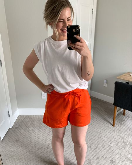 The COMFIEST lounge shorts! They come in 7 colors and are currently on sale for $35. I am wearing a M for reference >> #liketkit #loungewear @liketoknow.it http://liketk.it/3dzzM