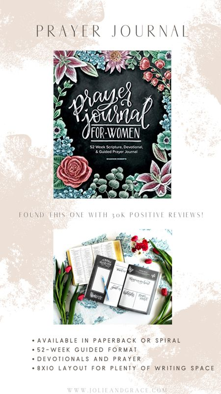 Prayer journal! Devotionals, prayer and plenty of Journaling space based on a 52-week guided format. http://liketk.it/3h8E2 @liketoknow.it #liketkit Amazon Prime//faith//religion//religious
