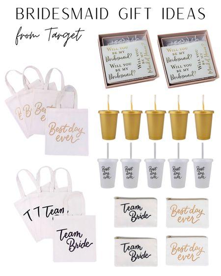 Target finds, bridesmaids, bridesmaids gift, bride to be, wedding day, wedding, bridesmaid proposal. #LTKwedding #LTKunder50 #LTKitbag #liketkit @liketoknow.it http://liketk.it/3ahFI