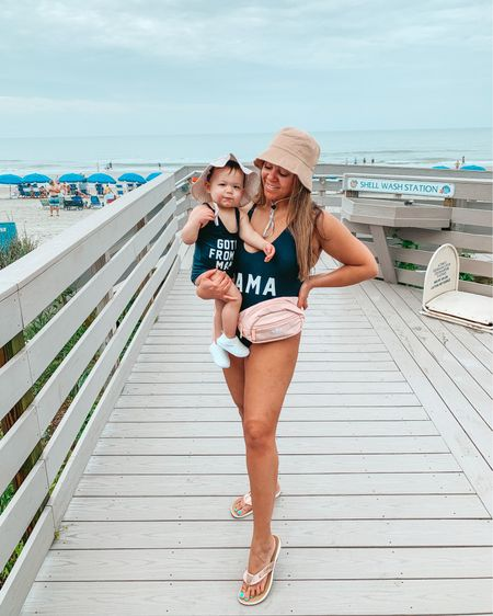 Swim. Bathing suits. Amazon finds. Baby girl swim. Got it from my mama. Mama swimsuit. Toddler swim. Beach vacation. Vacation outfits. Swimsuits. One piece swimsuit. Matching swimsuits. Mom style. Bucket hat. Sandals. Fanny pack.  @liketoknow.it http://liketk.it/3jScO  #liketkit   #LTKfamily #LTKswim #LTKtravel