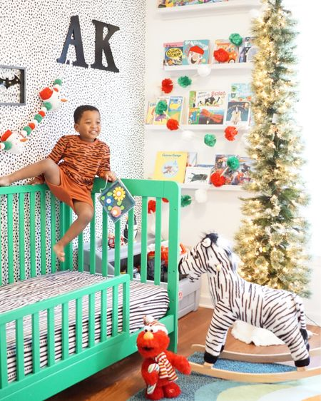 Toddler Boys Tiger Stripped Top and Bottom http://liketk.it/31IPE #liketkit @liketoknow.it