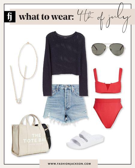 4th of July outfit inspo! #usa #swim #bikini #beachvacation #denimshorts #summerfashion #fashionjackson http://liketk.it/3ijbZ #liketkit @liketoknow.it #LTKunder50 #LTKunder100 #LTKstyletip