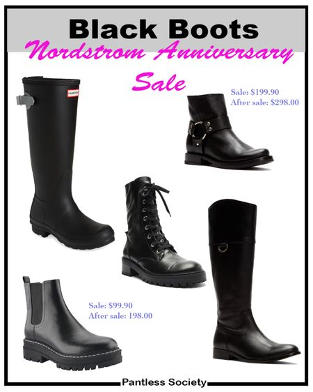 Nordstrom Anniversary Sale. Black boots. Shoe sale. Outfit crush. Shoe crush. Shoe haul. #Nsale Nsale. Follow me on the LIKEtoKNOW.it shopping app for Exclusive content and daily deals.  #LTKstyletip #LTKsalealert #LTKshoecrush
