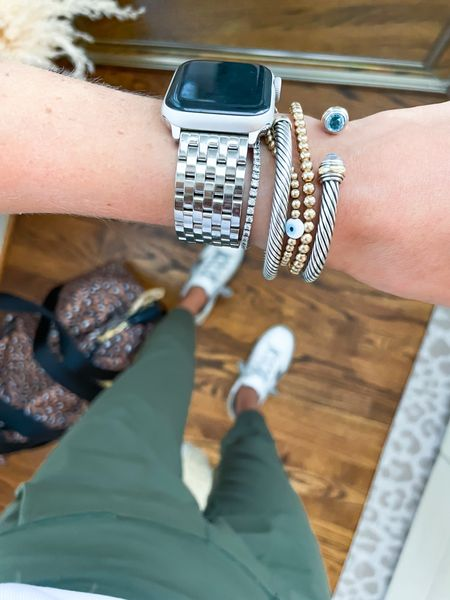 Watch band and David yurman bracelets    #LTKunder100 #LTKstyletip #LTKunder50
