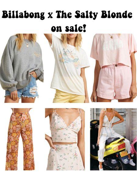 Billabong x the salty blonde on sale at Nordstrom! Super cute summer pieces http://liketk.it/3grSj #liketkit @liketoknow.it #LTKtravel #LTKsalealert #LTKstyletip