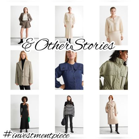 Everything you need for fall - from wrap coats to utility jackets, knits, and suiting separates @otherstories #investmentpiece    #LTKstyletip #LTKunder100 #LTKSeasonal