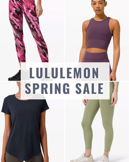 Lululemon We Made Too Much sale has lots of great options! Leggings for $59 and Tanks and Tees $29-$39! I linked to some great options with lots of sizes left!   #LTKsalealert #LTKunder100 #LTKfit