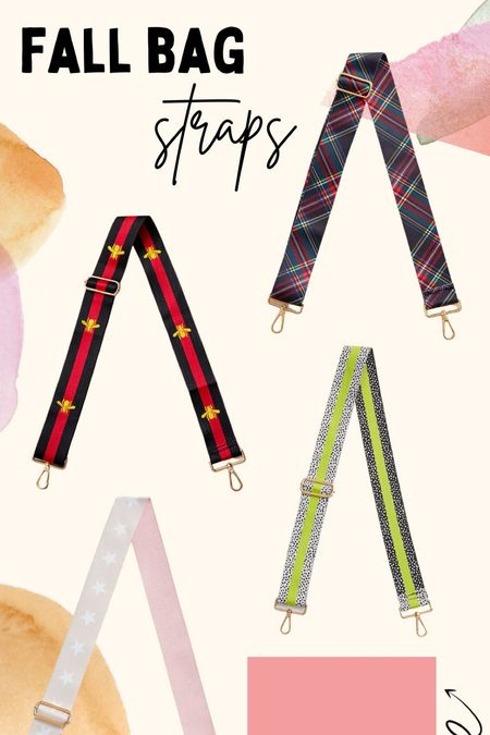 Fall bag straps!