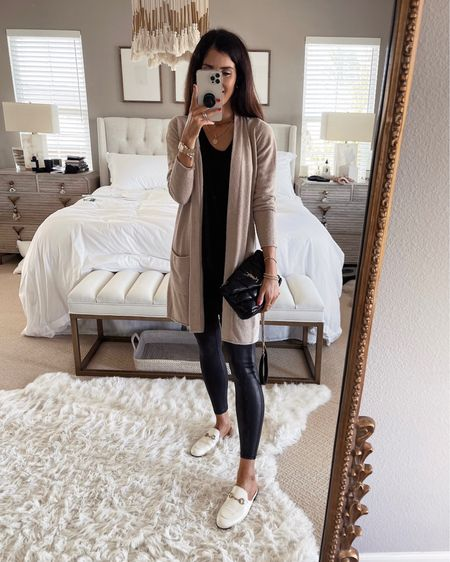 Xs cardigan. I'm wearing, size small spanx leggings- order 1 size up, I'm just shy of 5'7 for reference Nordstrom anniversary sale, Nsale, Nordstrom, fall outfit, StylinbyAylin #liketkit @liketoknow.it http://liketk.it/3kGMs