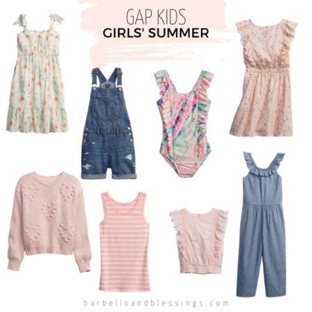 Girls summer clothes  #LTKkids #LTKfamily #LTKSeasonal