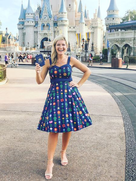 """My """"It's a small world"""" dress! Can I wear this style everyday? I think I might have been born in the wrong era! Use the code SAVEMORE to get up to 25% off!    You can instantly shop all of my looks by following me on the LIKEtoKNOW.it app     http://liketk.it/2CP4a @liketoknow.it #liketkit #LTKtravel"""