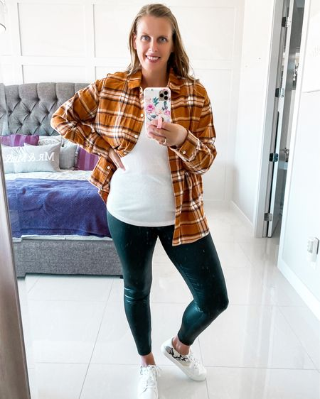 Fall outfit inspo  #falloutfit #plaidshirt #flannel  #LTKsalealert #LTKstyletip #LTKSeasonal