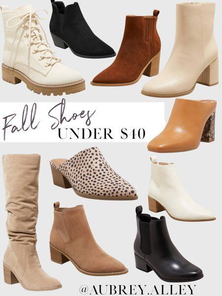 Fall shoes under $40!   #LTKunder100 #LTKshoecrush #LTKunder50