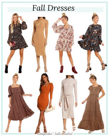 Fall dresses   #LTKunder100 #LTKstyletip