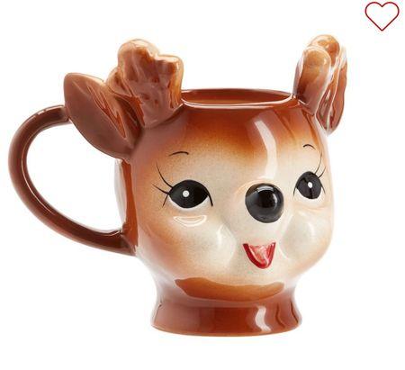 The cutest little reindeer mug!