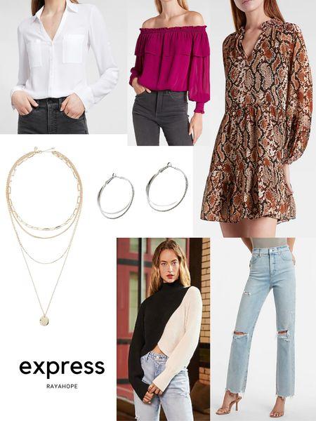 Express fall picks! Fall @ express  #LTKSale #LTKsalealert