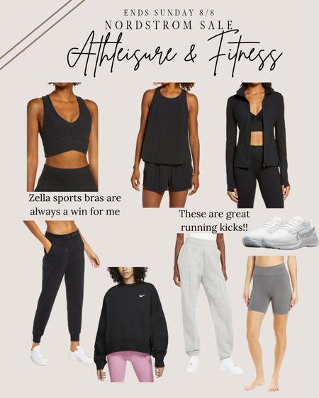 Best of athleisure and fitness wear! On sale through Nordstrom nsale    #LTKsalealert #LTKfit #LTKshoecrush