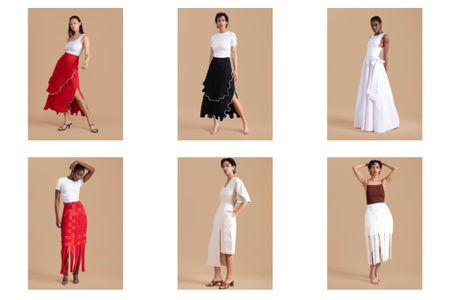 Some luxury African designers to know about Available at the Folklore Andrea Iyamah Gozel Green Selfi  Black pencil skirt Red pencil skirt White dress White maxi dress      #LTKtravel #LTKstyletip http://liketk.it/3ijdY #liketkit @liketoknow.it