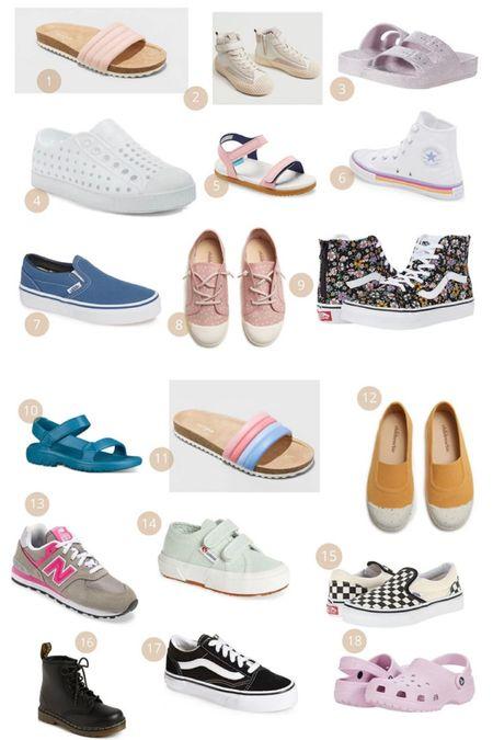 Back to school shoe round up 👟  #LTKkids #LTKshoecrush #LTKstyletip