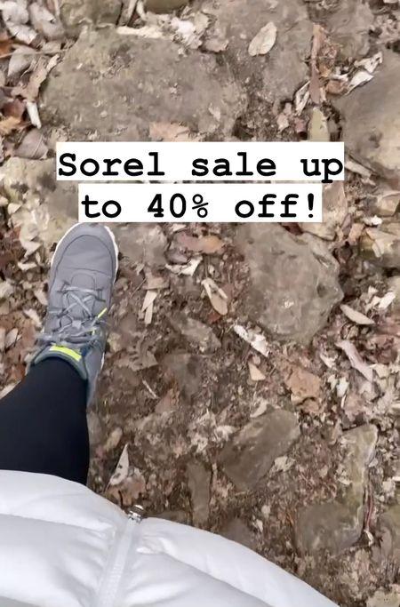 Big sale on Sorel footwear, including mine that I have been doing all my winter walks in.   #LTKSeasonal #LTKshoecrush #LTKfit