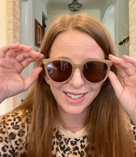 Fun amazon sunglasses find for fall!   #LTKunder50 #LTKstyletip #LTKsalealert