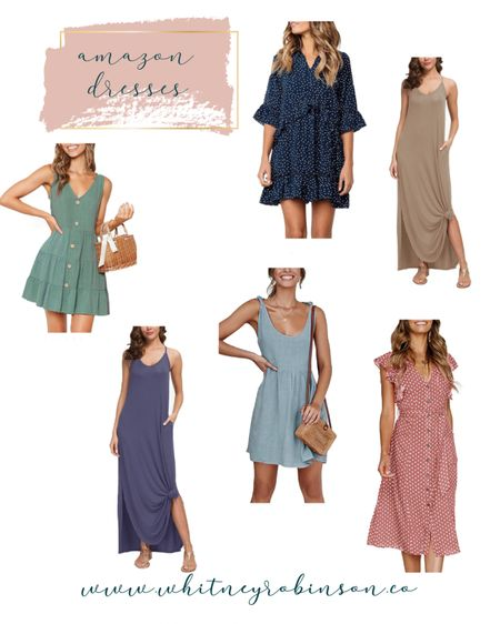 My favorite summer dresses are coming from Amazon this year! http://liketk.it/3cjXB @liketoknow.it #liketkit #LTKSpringSale #LTKunder50 #LTKstyletip   Spring outfit  Spring dress  Beach vacation  Summer fashion  Vacation outfit  Summer dress  Wedding guest dress  Amazon fashion  Amazon dress