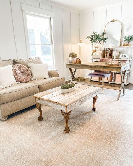 Home office decor Deschaicouch Washable rug Pillows  http://liketk.it/3cFjF #liketkit #LTKhome #LTKunder50 #LTKSpringSale @liketoknow.it @liketoknow.it.home