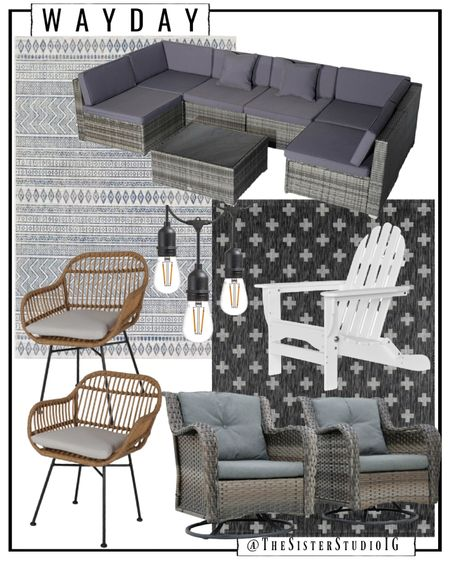 Way Day patio furniture. Home decor.     http://liketk.it/3e4MM @liketoknow.it #liketkit #LTKstyletip #LTKsalealert #LTKhome