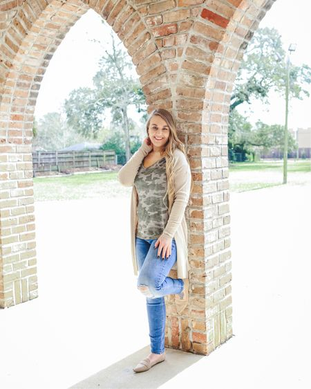 $5 basic tees & tanks @target! 👚 From camo to classic white, get them while the price is right! They're great for tuck-ins, side knots, layering and even HTV.   📷 @Katie_BeePhoto   Follow me on the LIKEtoKNOW.it app to get the product details for this look and see more $5 tees & tanks OR go to CentsibleBlonde.com (LINK IN BIO)!    @liketoknow.it http://liketk.it/2AyTP #liketkit #LTKunder50 #LTKunder100 #LTKshoecrush #LTKsalealert #LTKstyletip