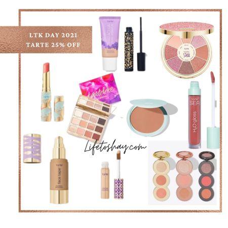 My favorite Tarte items are 25% off! Summer beauty faves! Tarte Cosmetics.   #LTKbeauty #LTKsalealert #LTKDay