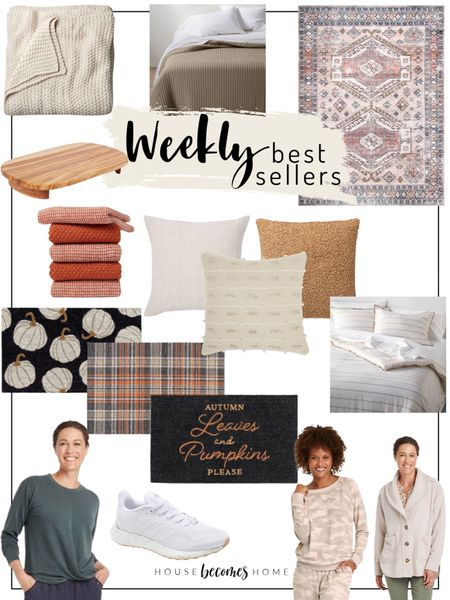 ✨ Weekly Best Sellers! ✨  Home decor, throw pillows, bedding, blanket, doormats, fall decor, entryway decor, ootd, casual outfits    #LTKhome #LTKGiftGuide #LTKstyletip