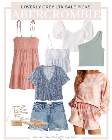 Loverly grey Abercrombie sale picks for summer!   #LTKDay #LTKsalealert