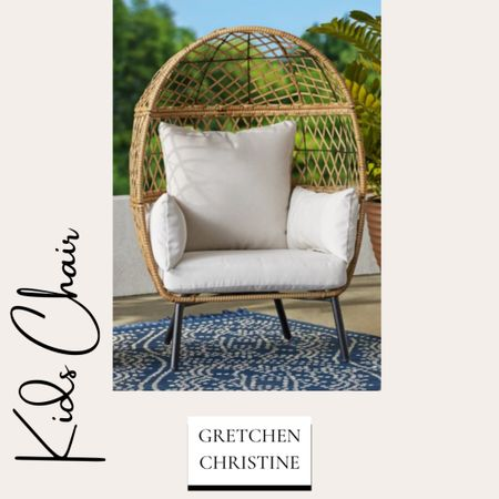Great outdoor chair for the kiddos!   #LTKfamily #LTKkids #LTKhome