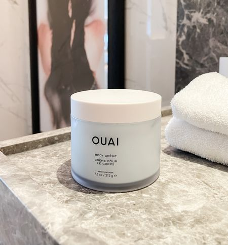 Absolute favorite body cream by OUAI! Fresh and light. If you love this, you'll love the OUAI St-Bart's scalp & body scrub (linked below)  #LTKbeauty #LTKtravel