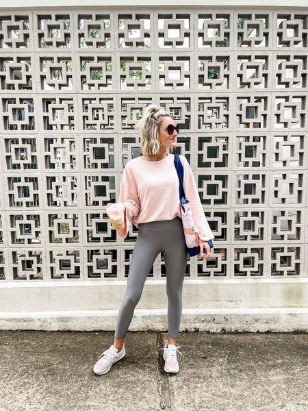This oversized sweatshirt is super comfortable and perfect for cooler days!   #LTKstyletip #LTKsalealert #LTKunder100