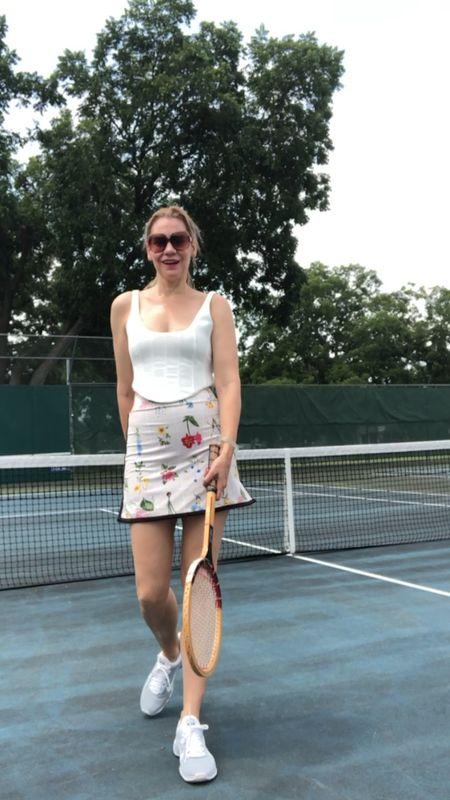 Look chic on and off the court #investmentpiece #tenniscore   #LTKunder100 #LTKstyletip #LTKfit