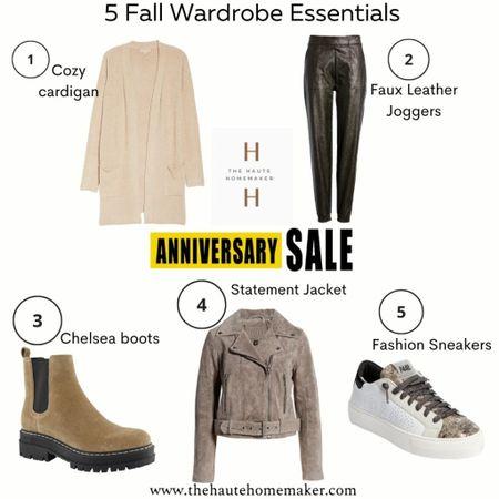 5 wardrobe essentials from the #nsale to build a fall capsule   #LTKshoecrush #LTKstyletip #LTKunder100