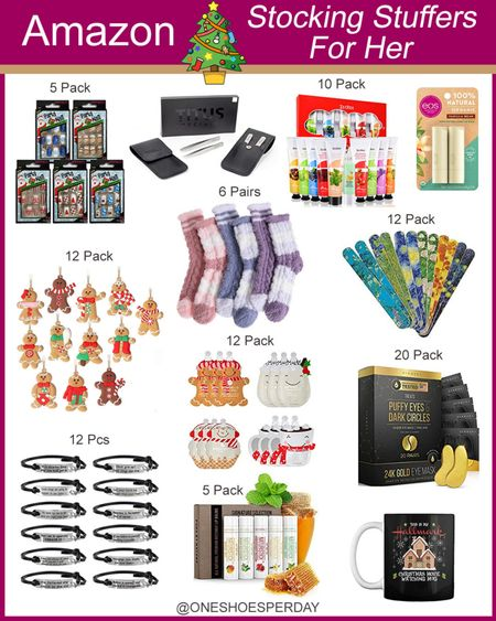 Amazon Finds  Stocking Stuffers for Her        http://liketk.it/3pGmK @liketoknow.it #liketkit #LTKGiftGuide #LTKHoliday #LTKSeasonal #LTKsalealert #LTKunder50 #LTKbeauty Beauty   Lotion   Bracelets   Ornaments   Nails Press On   Mugs   Cosmetics   Christmas Gifts   Gift guide   Gift Ideas  