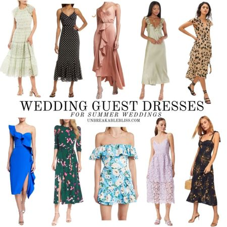 It's summer wedding season! And there are so many cute wedding guest dresses in style this season! @liketoknow.it #liketkit #LTKwedding #LTKstyletip #LTKsalealert http://liketk.it/3fDy5
