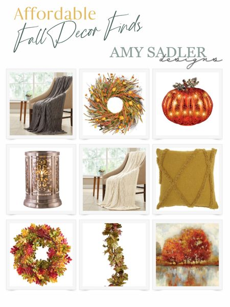 It's time!!!! Time for cozy fall finds! These are a few I've found!   #LTKunder100 #LTKhome