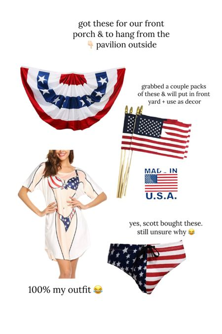 Amazon finds // Fourth of July decor // coverup // http://liketk.it/3ierZ @liketoknow.it #liketkit #LTKunder50 #LTKswim #LTKstyletip