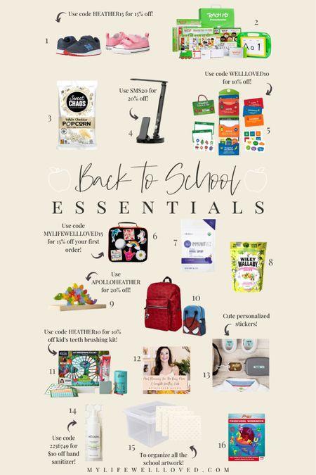Back to school essentials 📚 round up the TOP back to school essentials you need for the new school year!   #LTKfamily #LTKkids #LTKunder100